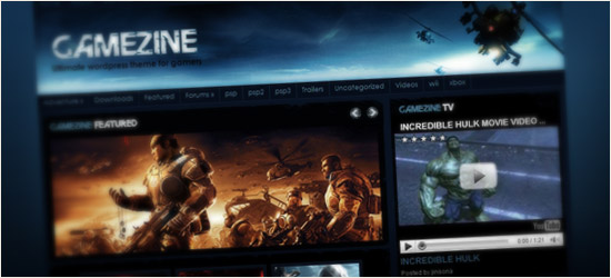 Gamezine WordPress Theme