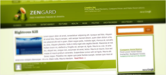 Zengard WordPress Theme