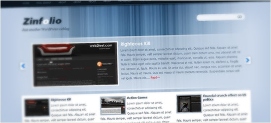 Zinfolio WordPress Theme