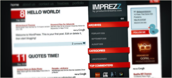 ImpreZZ WordPress Theme