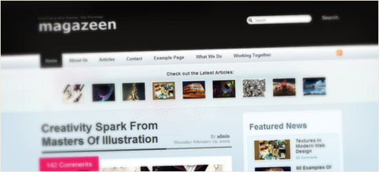 Magazeen WordPress Theme