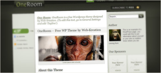 One Room WordPress Theme