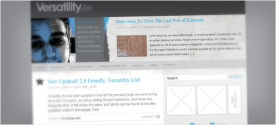 VersatilityLite v.2 WordPress Theme