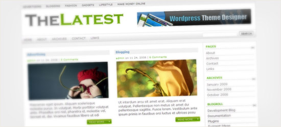 TheLatest WordPress Theme
