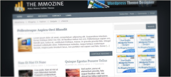 MMOZINE WordPress Theme