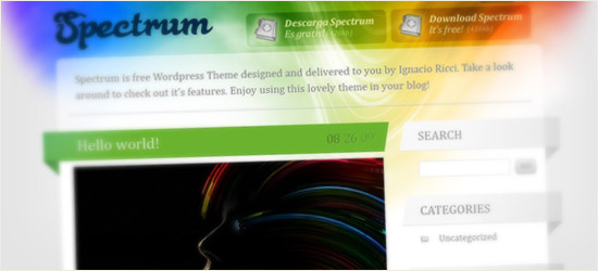 Spectrum WordPress Theme