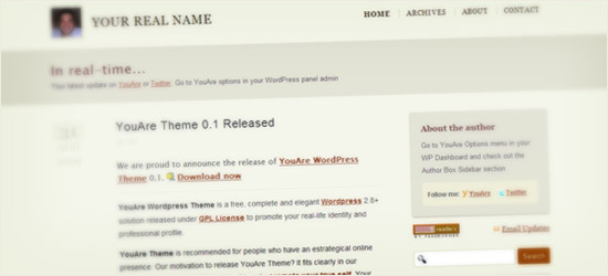 YouAre WordPress Theme