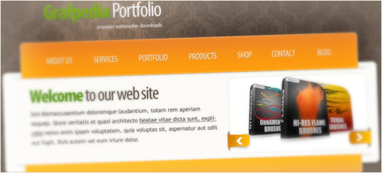 Awesome Portfolio Layout