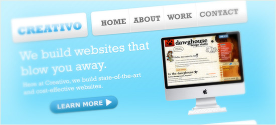 Clean Web 2.0 Style