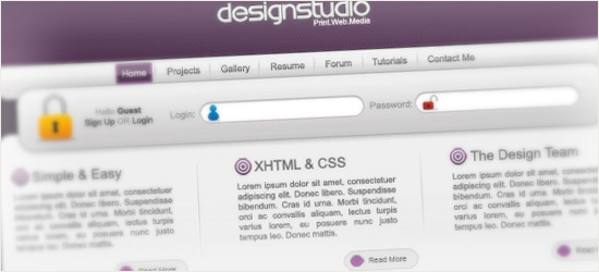 Design Studio Layout #2