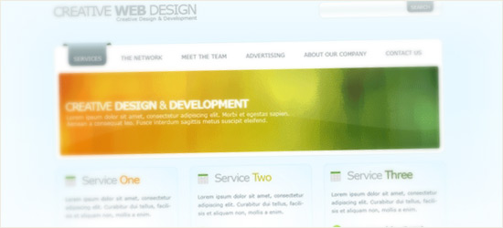 Webdesign Layout #11