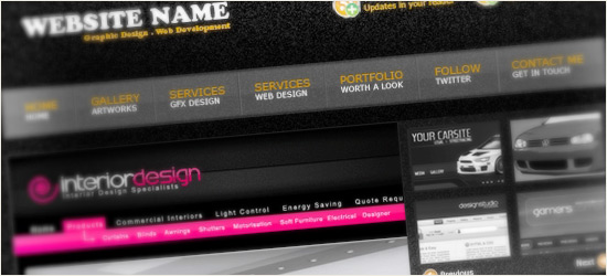 Web Design Layout #8