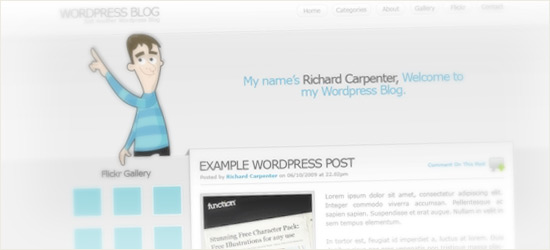 WordPress Layout #6