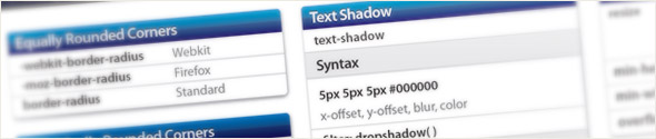 CSS 3 Help Cheat Sheet