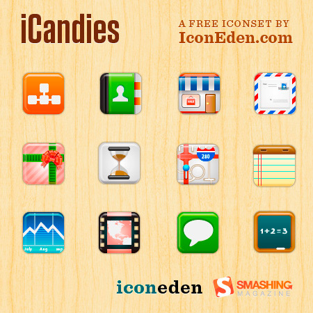 iCandies Icon Set