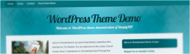 Cyangant WordPress Theme