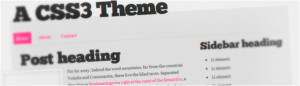 HTML5 and CSS3 Html5 WordPress Theme