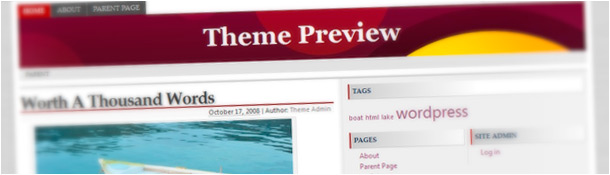 RedLine HTML5 WordPress Theme