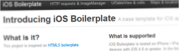 iOS Boilerplate