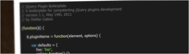 jQuery Plugin Bolierplate
