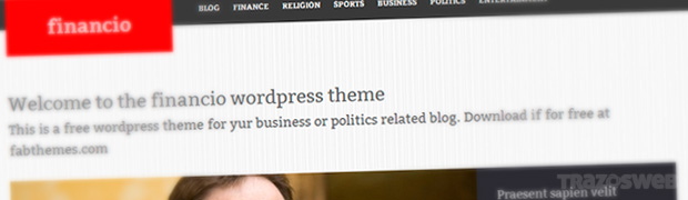 Financio WordPress Theme