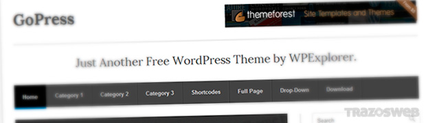 GoPress WordPress Theme