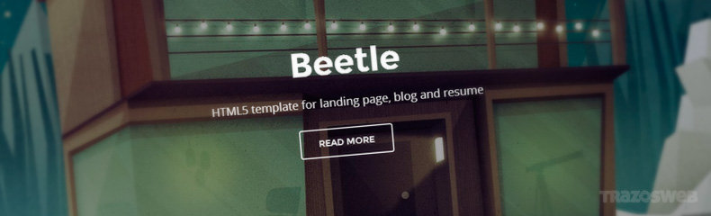 Beetle HTML/CSS Template