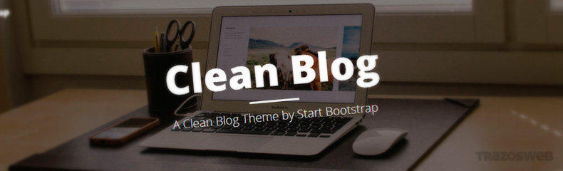 Clean Blog HTML/CSS Template