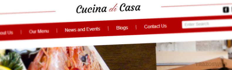 Cucina di Casa WordPress Theme