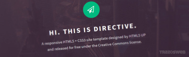 Directive HTML/CSS Template