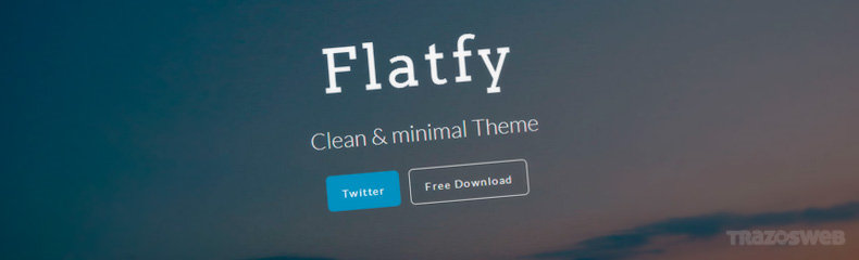 Flatfy HTML/CSS Template