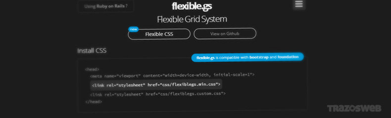 flexible.gs CSS Framework