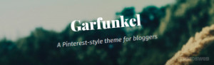 Garfunkel WordPress Theme