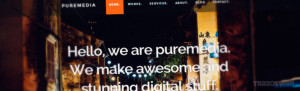 Puremedia HTML/CSS Template