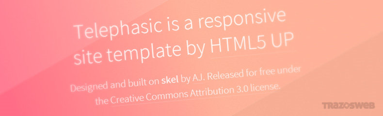 Telephasic HTML/CSS Template