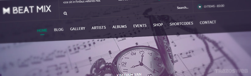 Beat Mix WordPress Theme