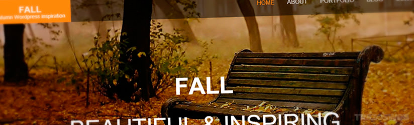Fall WordPress Theme