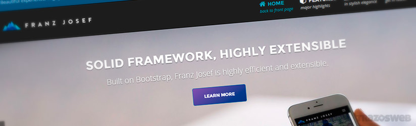 Franz Josef WordPress Theme