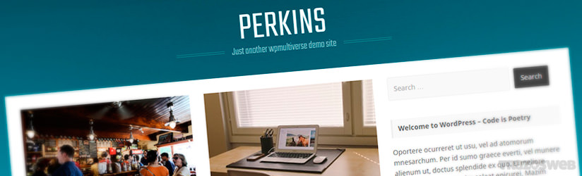 Perkins WordPress Theme