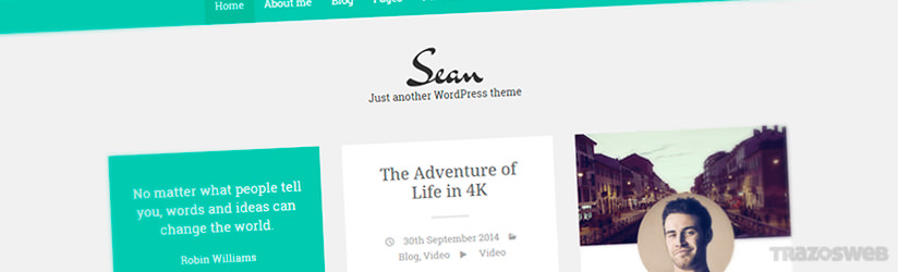 Sean WordPress Theme