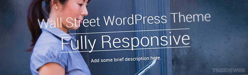 Wallstreet WordPress Theme